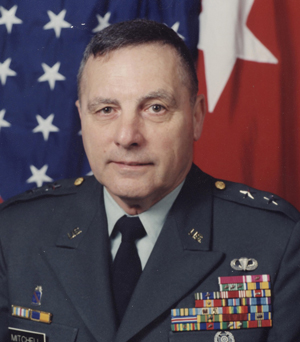 Major General (Retired) Robert J. Mitchell, age 77
