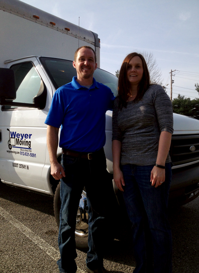 Nick and Elizabeth Weyer opened Weyer Moving, the county's first full-service moving company.