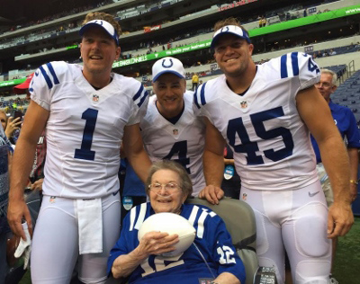Twilight Wish granted Martha's wish to see her beloved Colts.