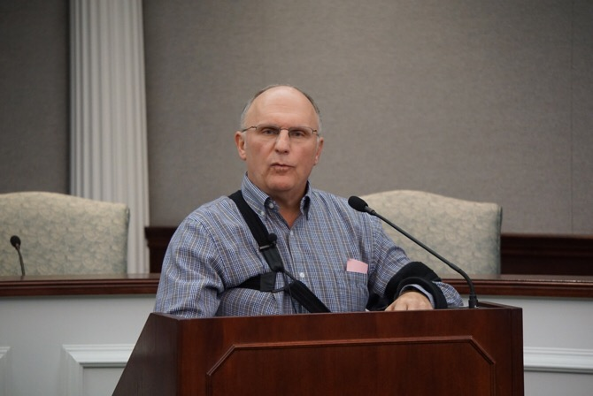 Jasper Mayor Terry Seitz said it was time to move forward and refused to take part in a special election as requested by his opponent in the municipal election, Wayne Schuetter. The two tied with 1,856 votes each. That tie was pushed to Seitz's favor after a recount commission threw out a ballot for improper signatures.