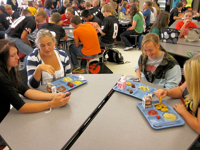 high school lunch table. Southridge Freshman And Sophomore Girls At Lunch High School Table G