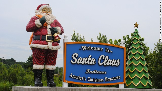 Santa Claus Named On Cnn S 12 Best Places To Spend