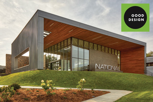 National Office Furniture Headquarters Earns Green Good Design Award