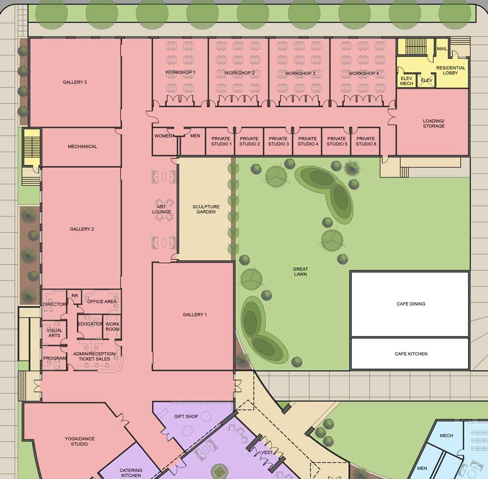 Jasper Cultural Center designs revealed - Dubois County Free Press