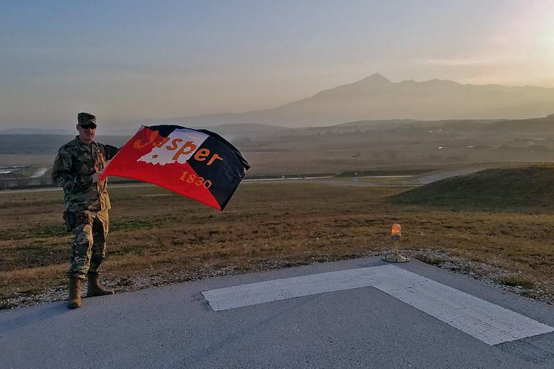 Jasper officer reports from Kosovo