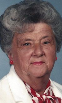 Virlee C. Burger, 88, of Ferdinand