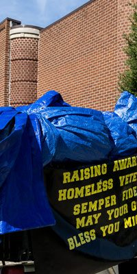 Timothy B. Watts has made it his mission to visit every county in Indiana to help spread awareness of the plight of the homeless.