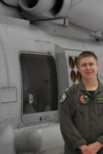 "Lt. Ian Park is a helicopter pilot with the ""Vipers"" of Helicopter Maritime Strike Squadron (HSM) 48, a Mayport, Florida based squadron that operates the Navy's next generation submarine hunter and Anti-Surface Warfare helicopter, the MH-60R Seahawk. Photo by Mass Communication Specialist 1st Class Robert Zhan"