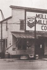 The corner store — Muller Milling Company as it rested on Main Street in the early 20th Century.