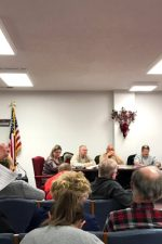 Dr. Erin Marchand addressed the council and those in attendance regarding her concerns with the proposed coal hydrogenation plant.