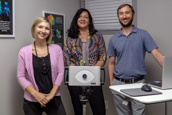 Brittany Tarrh, Sandy Horton and Derek Tarrh recently opened Total Wellness & Thermography in Jasper.